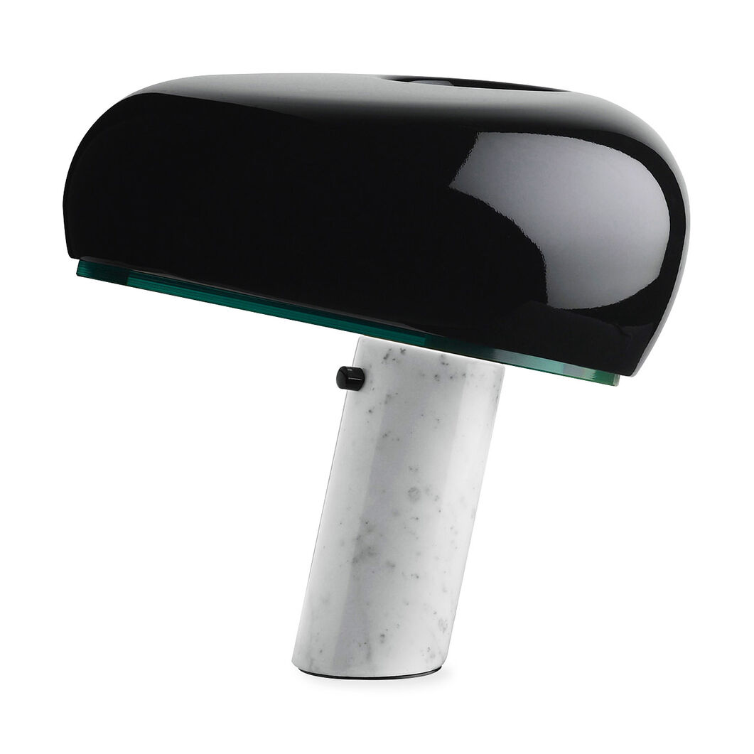 Snoopy Table Lamp in color Black