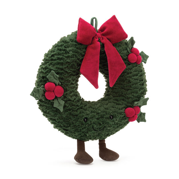 Amuseable Wreath Plush Pal in color
