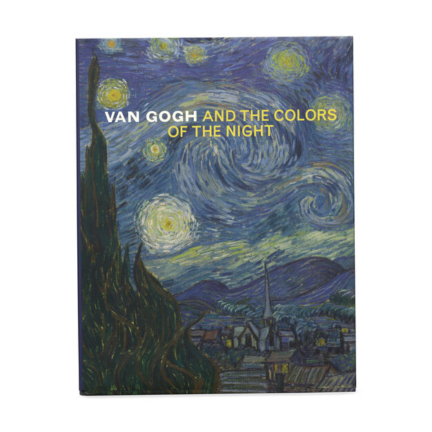 Hardcover Van Gogh and the Colors of the Night in color
