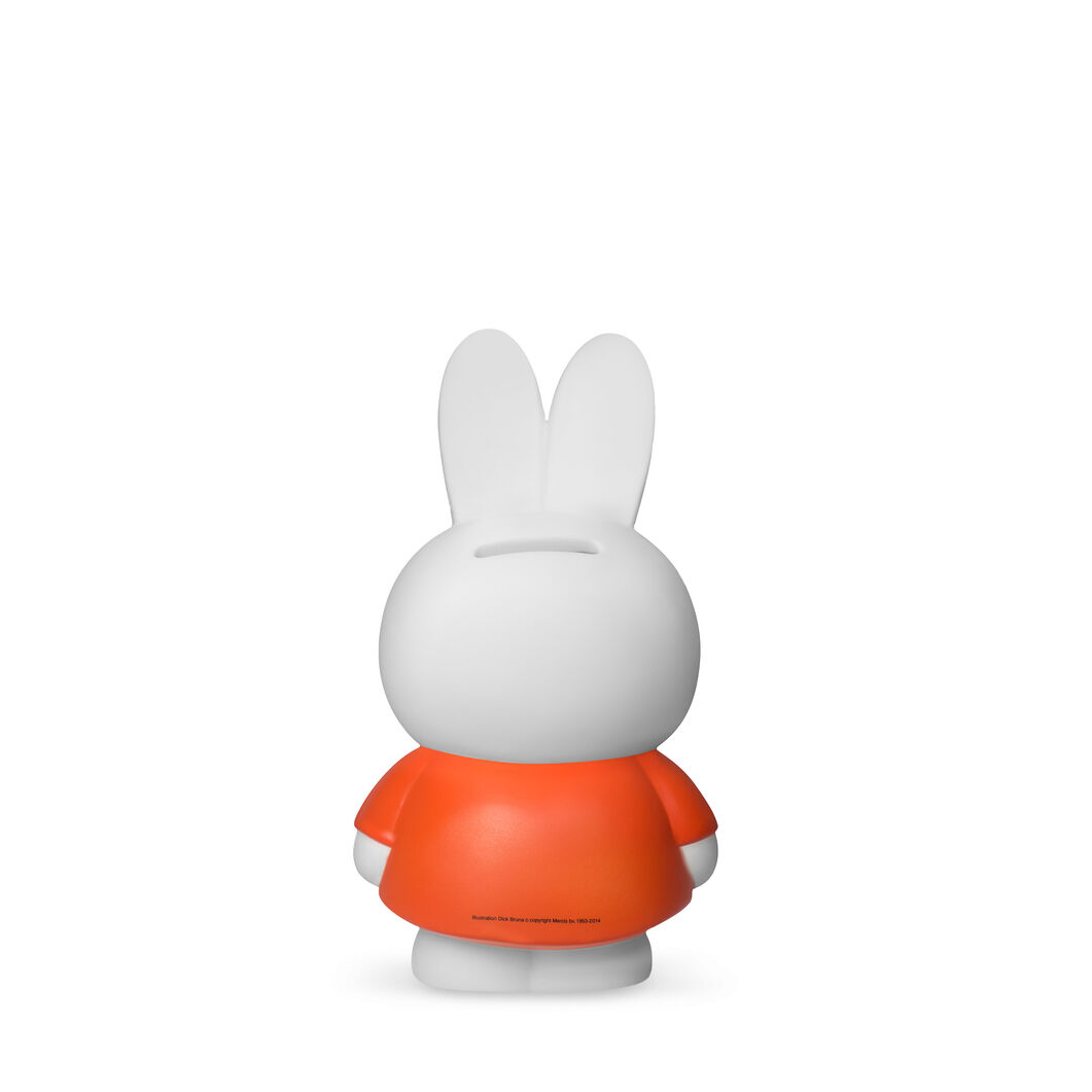 Miffy Coin Bank- Medium in color Red