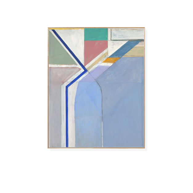 Richard Diebenkorn: Ocean Park No. 24 Framed Print in color