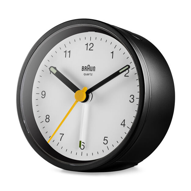 Braun BC12 Travel Alarm Clock in color