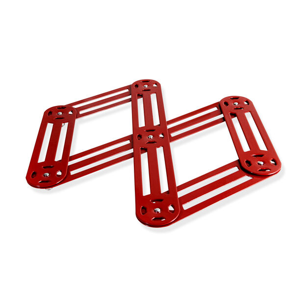 Accordion Trivet in color Red