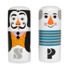 Salvador and Pablo Salt & Pepper Shakers in color