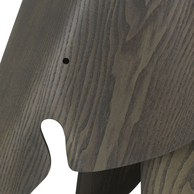 Eames® Plywood Elephant 75th Anniversary Edition in color Gray