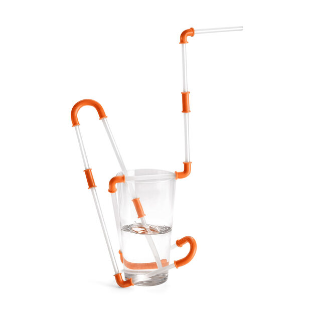 Constructible Drinking Straw in color
