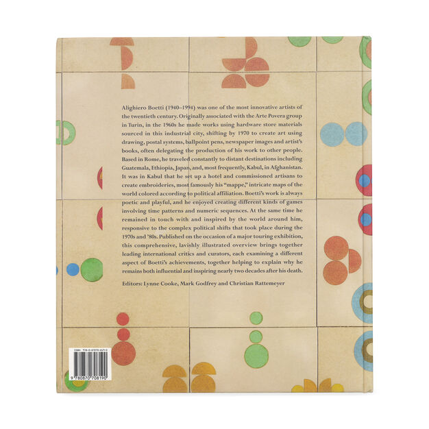Alighiero Boetti: Game Plan in color