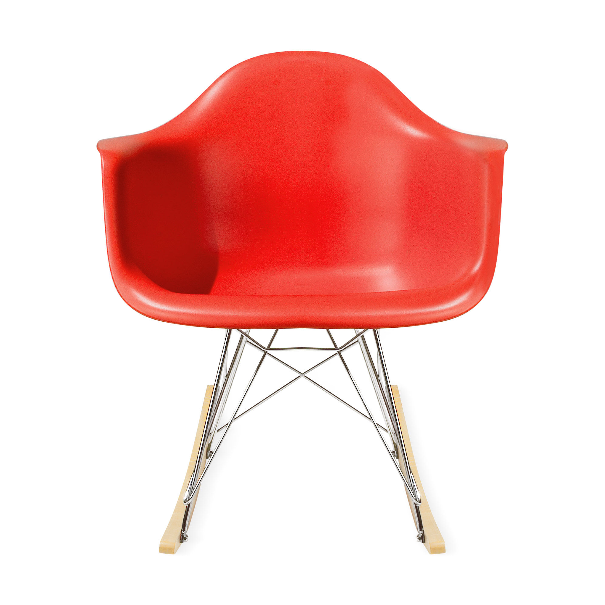 Eamesu0026reg; Molded Plastic Armchair With Rocking Base U0026#40 ...