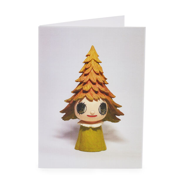 Yoshitomo Nara Mori Girl Holiday Cards (Box of 12) in color