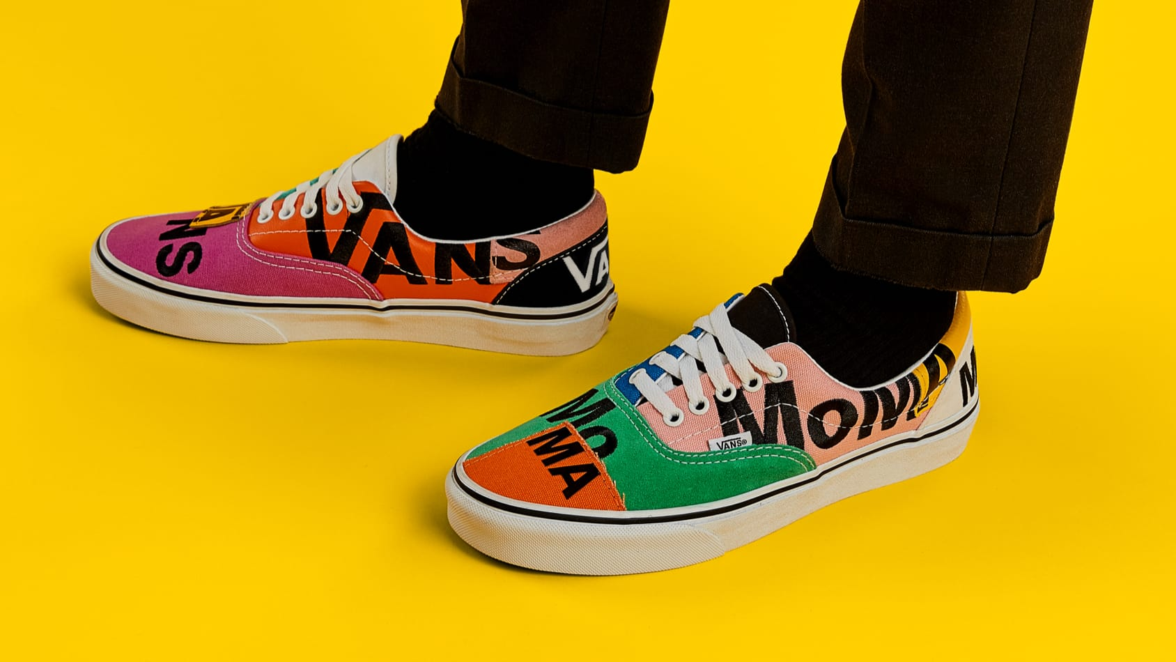 Shop the exclusive MoMA Vans Era sneakers